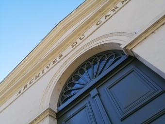 Porte des Archives du Canal du Midi